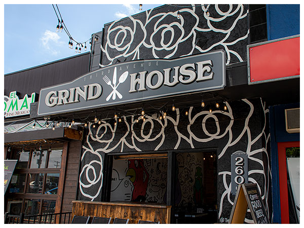 Grind House External Shot